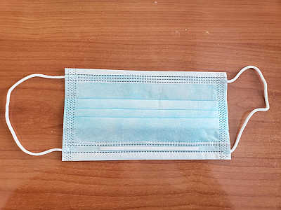 Surgical Breathing Mask (Package of 5)