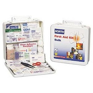 First Aid Supplies, Metal First Aid Kit, 50 Person 019705