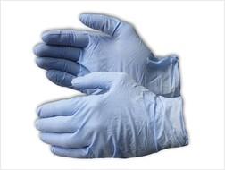 Hercules Powder Free Nitrile Gloves, 8 mil