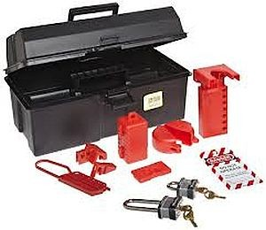 North Safety Lockout / Tagout Tool Box