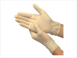 Spartan Powdered Disposable Latex Gloves