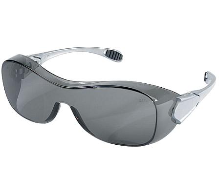 Crews OG112AF Law Safety Glasses over Prescription Safety Glasses Gray Lens