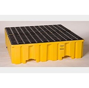 Eagle Mfg 4 Drum Containment Spill Pallet 1640