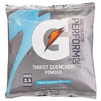 Glacier Freeze 33677 Powdered Gatorade Mix 2.5 Gallon 32 pks/cs FREE Shipping