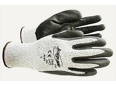 Jaguar 3135 Nitrile Coated Cut Resistant Gloves Cut Level 4