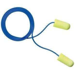 3M 311-1250 Yellow Neon Ear plugs, 33 NRR, 3m ear plugs