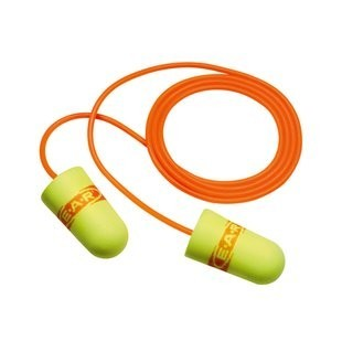 3M 311-1254 EARsoft Super Fit Corded EarPlugs, 33 NRR
