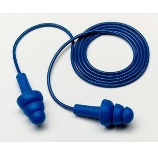 3M 340-4007 Corded Ultra Fit Metal Detectable Earplugs, 25 NRR, 3M ear plugs