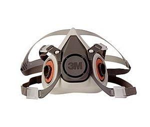 M 6300 Half Face Mask Respirator-Large gas mask