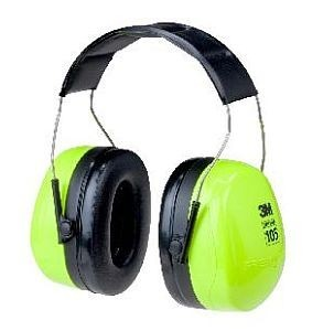 3M H10AHV Peltor Optime High Visibility Earmuffs, 3m ear muffs, high visibility ear muffs, hi viz ear muffs