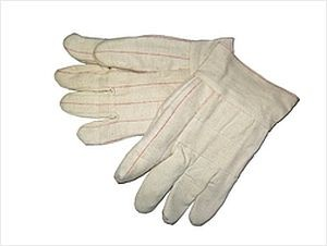 """30 oz Hot Mill Gloves Burlap Lined 2"""" Cuff"""