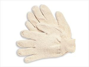 Mediumweight Heat Resistant Terrycloth Gloves-Small