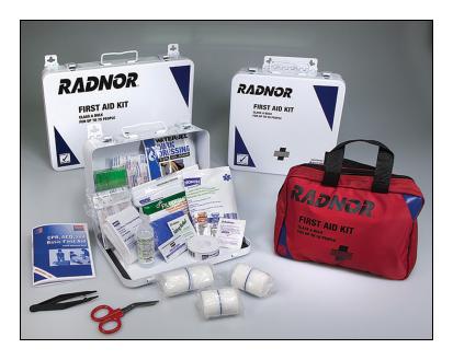 75 Person Class A Steel Bulk First Aid Kit