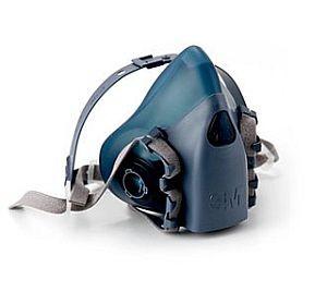 3M 7502 Half Face Respirator Mask-Medium, gas mask