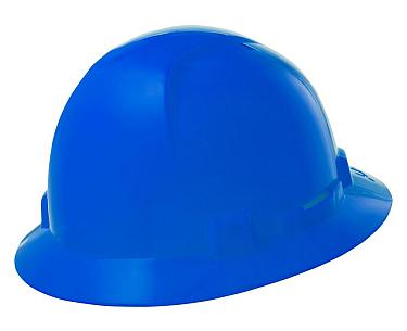 Briggs Full Brim Hard Hat, Blue HBFE-7B
