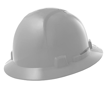 Briggs Full Brim Hard Hat, White HBFE-7W SHIPS FREE