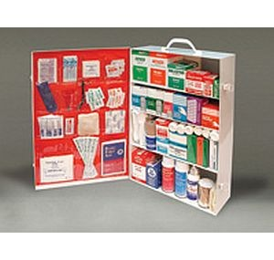 Radnor Four Shelf First Aid Kit Fully Stocked
