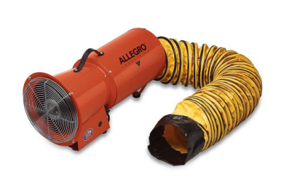 Allegro 9514 Steel Axial 8 Inch AC Blower with 15 Foot Ducting