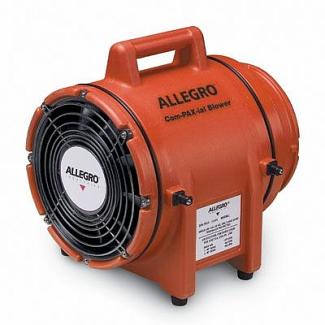 "Allegro 9536 8"" Axial DC Plastic Blower"