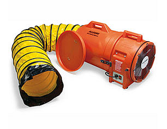 "Allegro 9543-15 12"" Axial AC Blower with Canister and 15' Ducting"