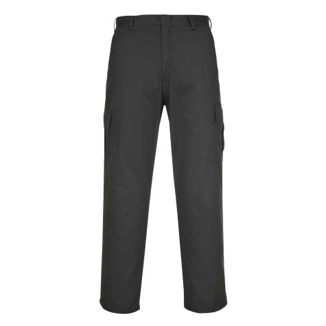 Portwest C701 Black Cargo Pants