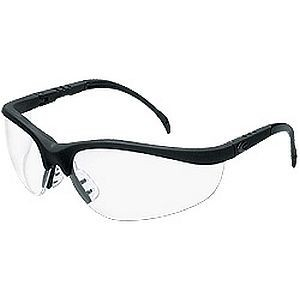 Crews Klondike KD110AF Safety Glasses Clear Lens, antifog lnes, safety glasses for hot climates
