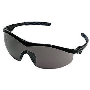 Crews Storm Safety Glasses ST112 Gray Lens, smoke lens safety glasses, safety glasses dallas