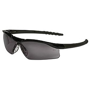 Crews Dallas Safety Glasses Gray Anti-Fog Lens DL112AF