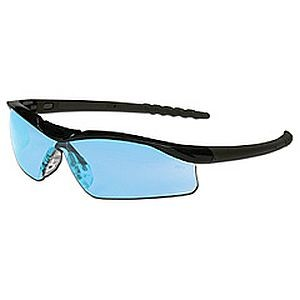 Crews Dallas Safety Glasses Light Blue Lens DL113
