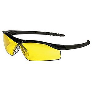 Crews Dallas Safety Glasses Amber Lens DL114