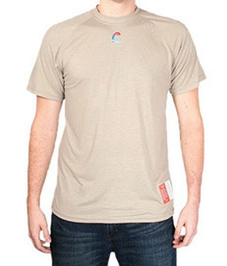 Flame Resistant T-Shirt, FR Tan T-Shirt