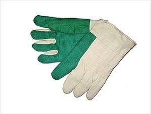 "30 oz Green Hot Mill Gloves, 2"" Cuff"
