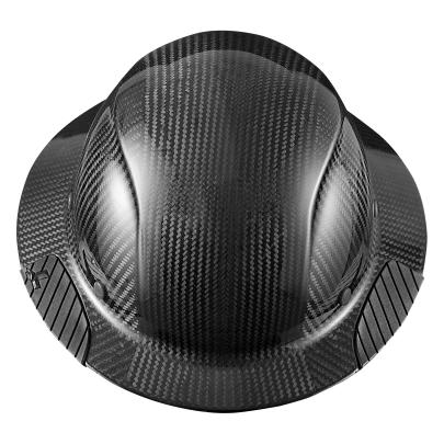 HDC-15KG DAX Carbon Fiber Full Brim Hard Hat w/ FREE SHIPPING