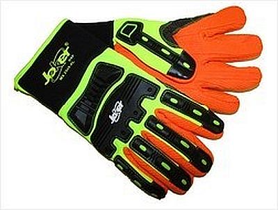 Hi- Viz Joker MX2545 Old School Impact Glove, oil rig gloves