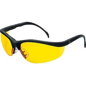 Crews Klondike Safety Glasses Amber Lens KD114