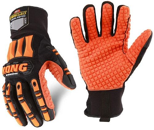 Oil Resistant Gloves >> Kong Impact Gloves With Oil Resistance Ironclad Kong Impact Gloves
