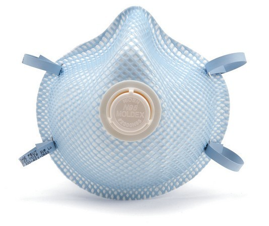 Moldex 2300 N95 Respirator mask with valve, dust mask