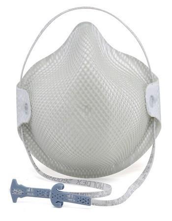 Moldex 2600 n95 dust mask, disposable respirator