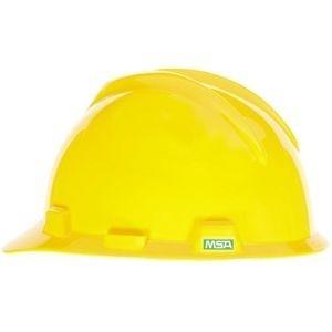MSA Hard Hat, Yellow MSA 475360