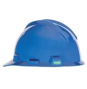 MSA Hard Hat, Blue MSA 475359