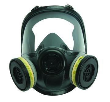 North Safety 54001 Full Face Respirator, Gas Mask, North 54001, North 5400