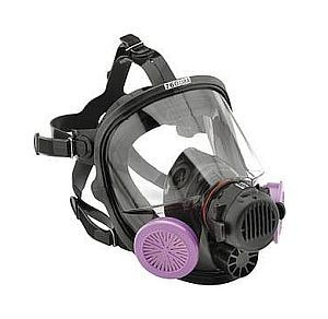 North Safety 76008AS Full Facepiece Respirator, Gas Mask