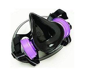 North Safety 770030 Medium Half Face Respirator, gas mask