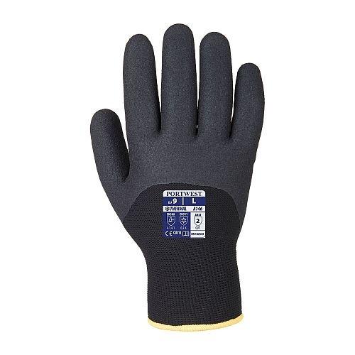 Portwest Black Arctic Blast Winter Glove A146