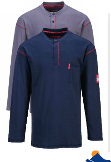 Flame resistant work shirt FR02