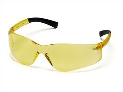 Pyramex ZTEK Safety Glasses with Amber Lens