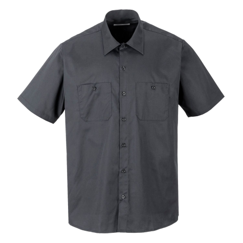Industrial Work Shirts Wholesale Uniform Shirts, Charcoal Grey