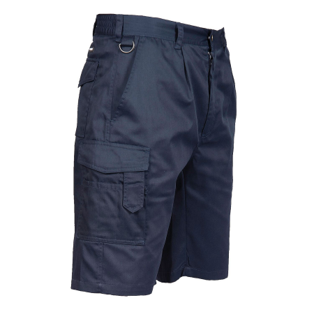 Portwest S790 Navy Blue Cargo Shorts, 11 inches