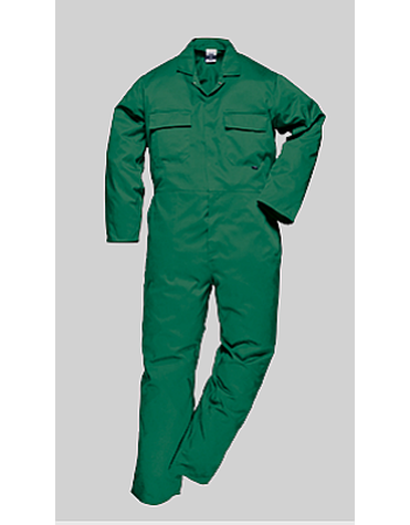 Portwest S999 Lightweight Bottle Green Coveralls, FREE SHIPPING