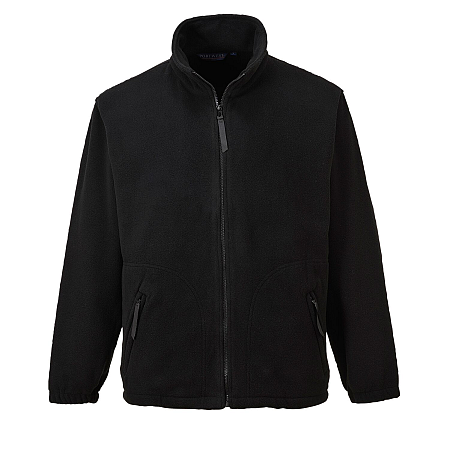 Portwest UF400 Argyll Black Heavy Fleece Jacket